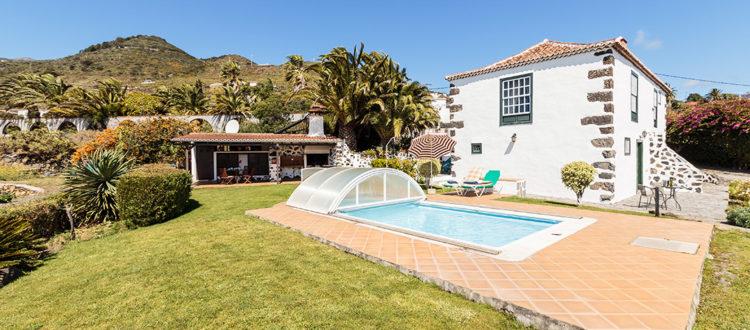 Casa Rural El Pósito - Exterior zona piscina